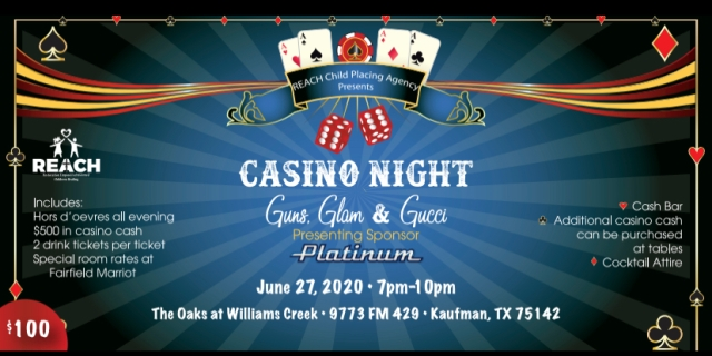 Casino Night Ticket 6-27